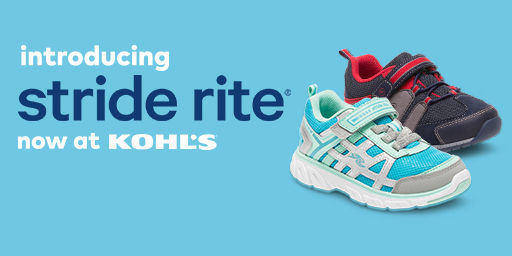 introducing Stride Right. Now at Kohls.