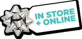 In Store + Online