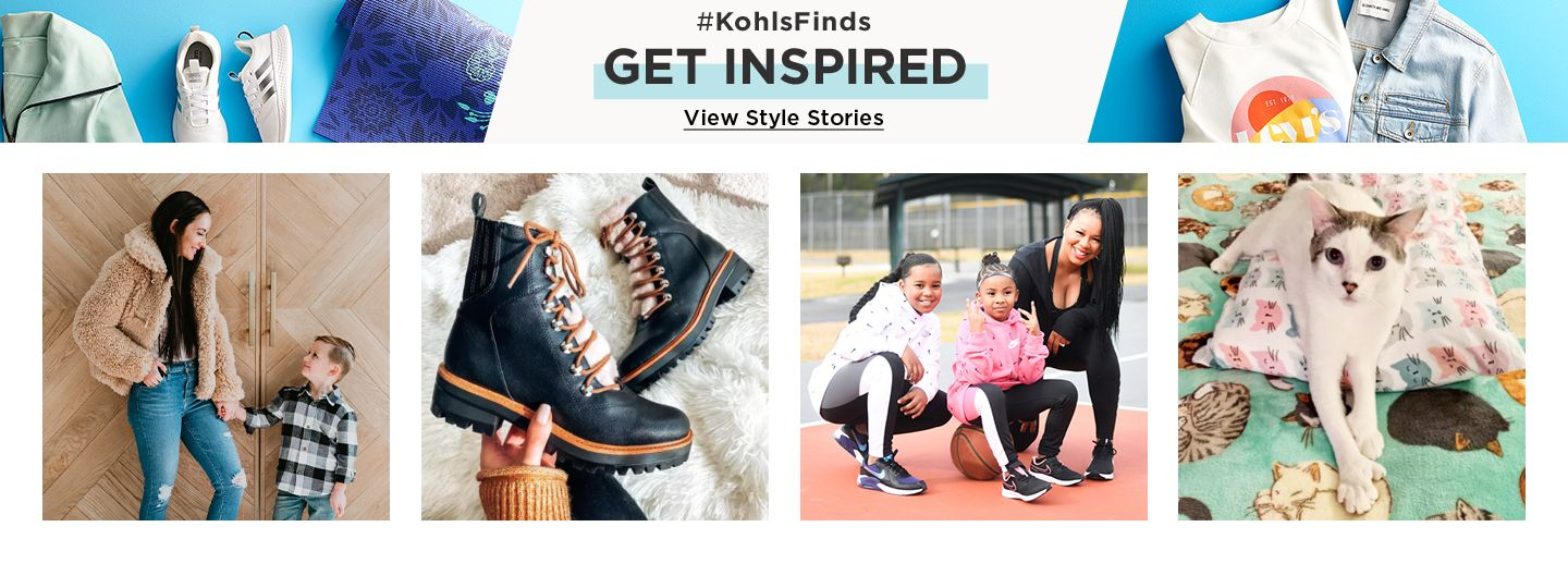#KohlsFinds Get Inspired. View style stories.