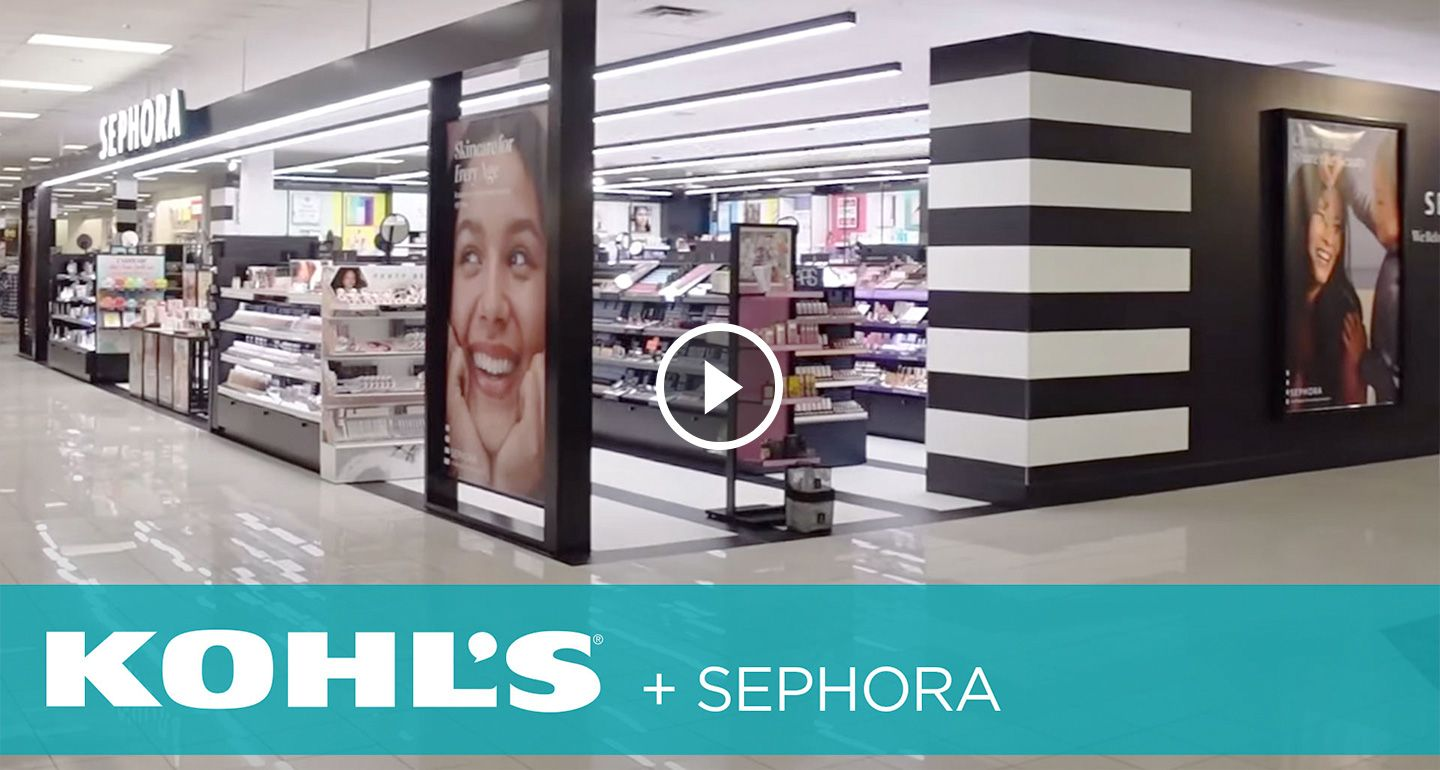 Kohl's Video is playing. Press tab to enter Youtube video controls.