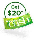Get twenty dollars in kohls cash