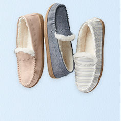 Slippers.