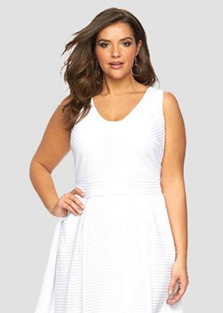 White Plus Size Clothing