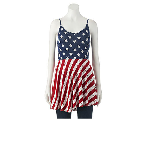 Juniors Patriotic Clothing