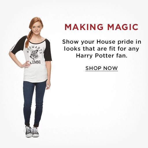 Juniors Harry Potter Clothing