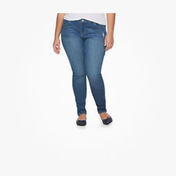 Juniors plus size jeans