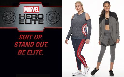 Marvel Hero Elite by Her Universe