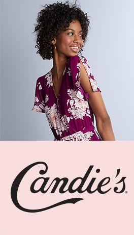 juniors candie's clothing