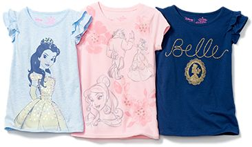 Disney's timeless Beauty and the Beast shirts