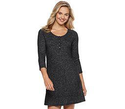 blonde girl wearing black dress