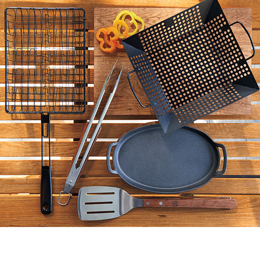 grilling tools, grills, grill cookware