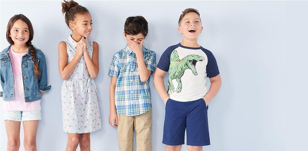 Kids' clothing.