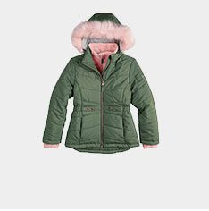 girls' outerwear.