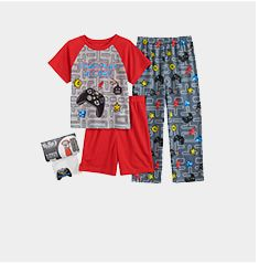 boys' pajamas.