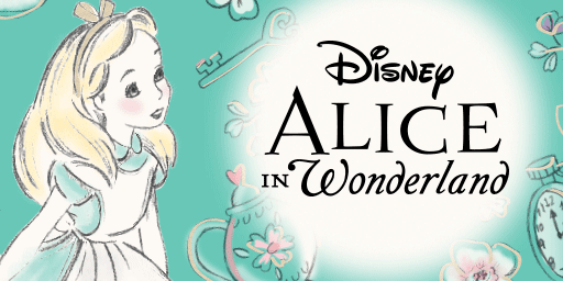 disney alice in wonderland clothes, toys and accessories for girls
