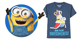Minions and Despicable me