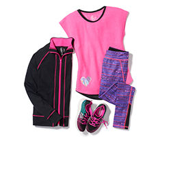 Girls' Gym Clothes