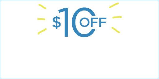 $10 off