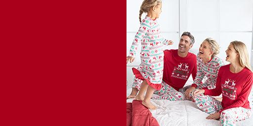 Family Holiday Pajamas