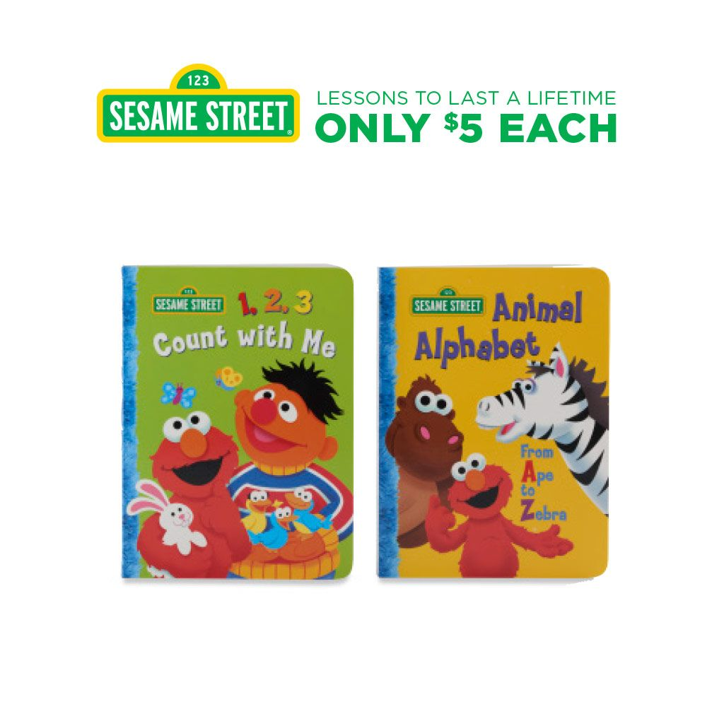 Kohls Cares Seasame Street Book