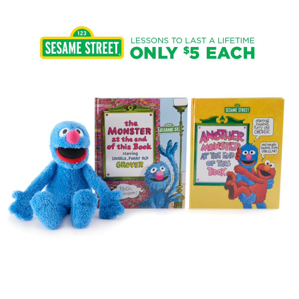 Kohls Cares Seasame Street Book and Plush