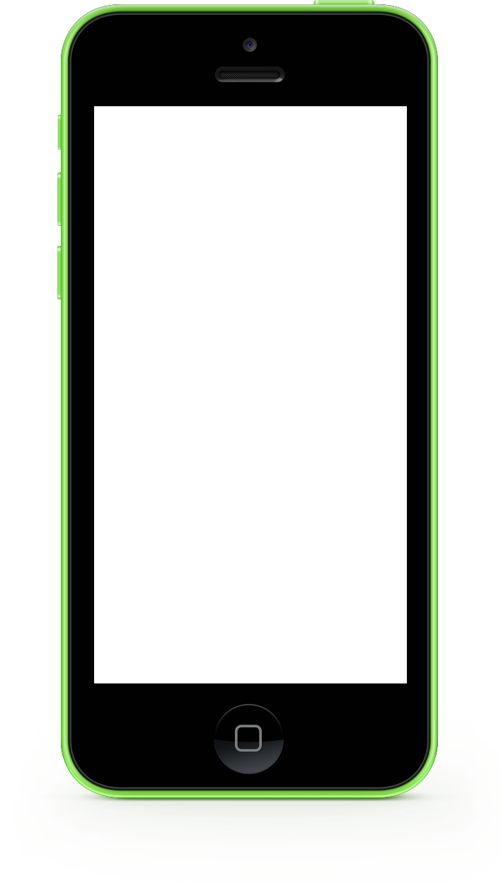 Green iPhone 5c Frame