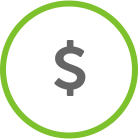 Savings Dollar Sign Icon
