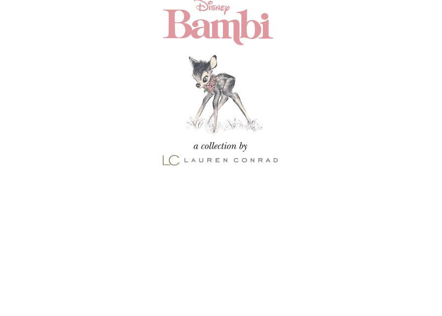 Disney Bambi A Collection by LC Lauren Conrad