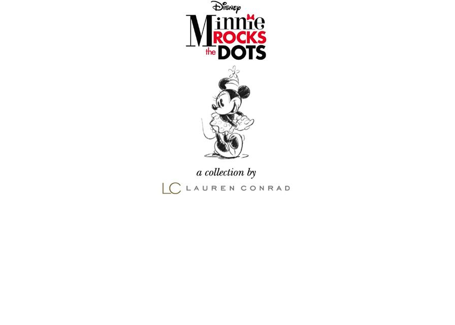 Disney Minnie Rock the Dots A Collection by LC Lauren Conrad