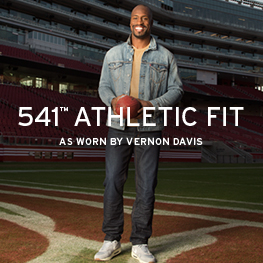 541 Athletic Fit. As worn by Vernon Davis.