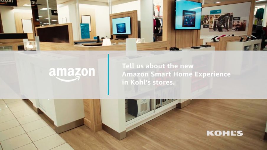 What Is The Amazon Smart Home Experience at Kohl's?