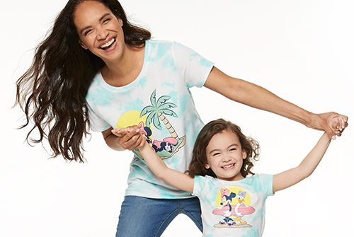 Disney Minnie Mouse matching family t-shirts