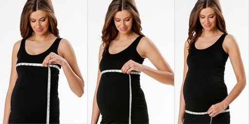 Pregnancy Size Chart