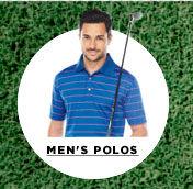 Men's golf polos