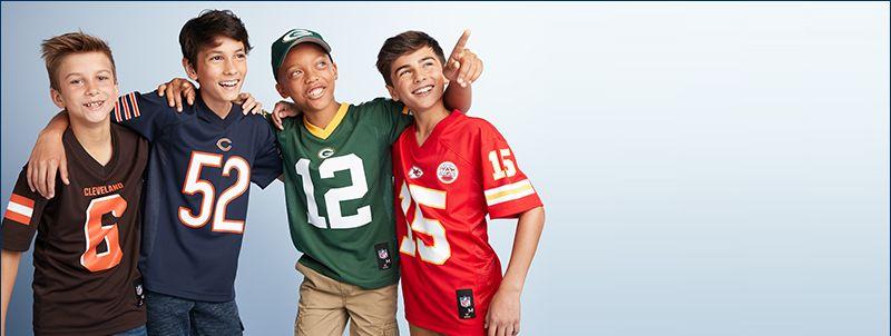 kids nfl shirts