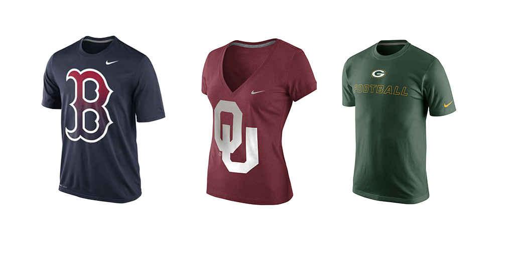 Nike team gear