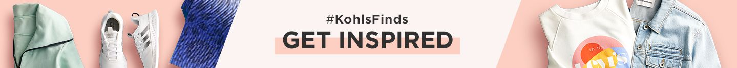 #KohlsFinds. Get inspired. Shop the look