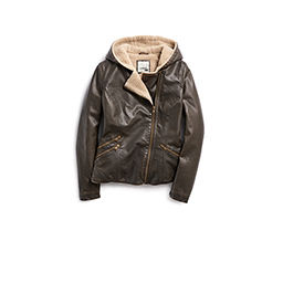 womens leather and faux leather jackets, coats