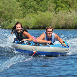tubing and water sports