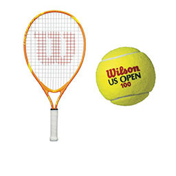 tennis racquets and tennis equipment