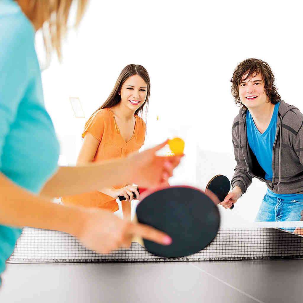 table tennis and games