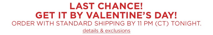 Last chance!
