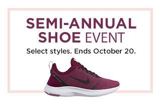 semi annual shoe event