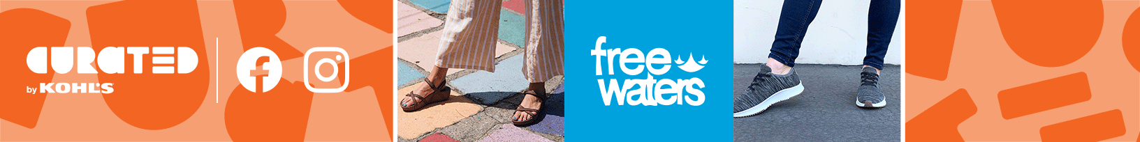 Curated by Kohl's Freewaters