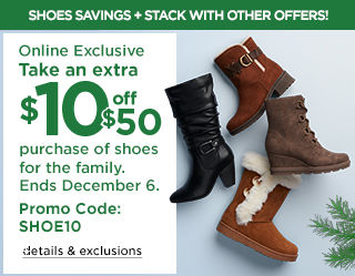 Friends and family savings. Take an extra 25% off with your Friends and Family coupon. Promo code SAVE25. Ends December 9.