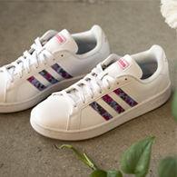 Adidas gazelle white satin Ibiza edition sz 8 40