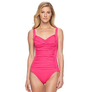Women's One-Piece Swimsuits & Swimwear | Kohl's