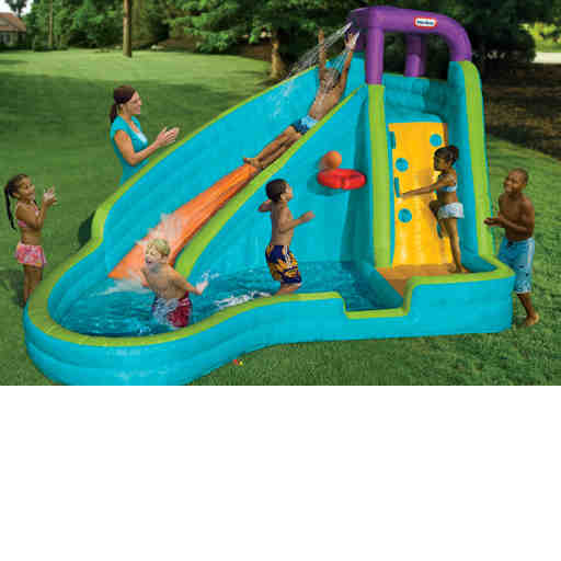water slides & water toys