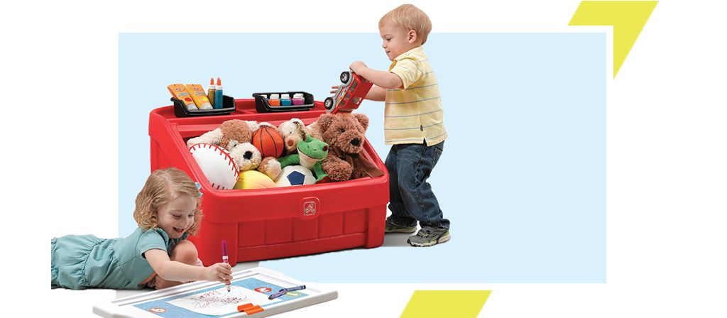 kids toy storage and toy boxes