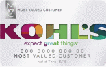 Kohl's Charge MVC Card Image